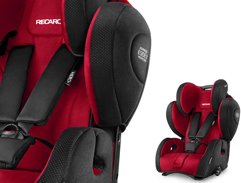 The Next Generation Recaro Child Safety Launches The New Young Sport Hero Recaro
